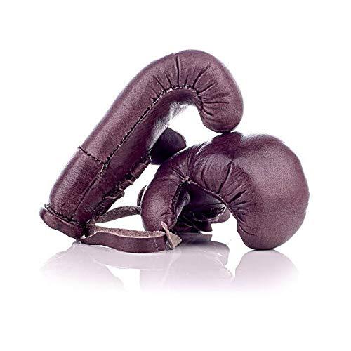 All Sport Vintage – Mini guanti da boxe – Marrone Vintage – Pelle di vacchetta – Cucito a mano – Fabbricazione francese