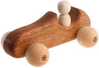 Sportcar Retro, Natural Wooden Toy