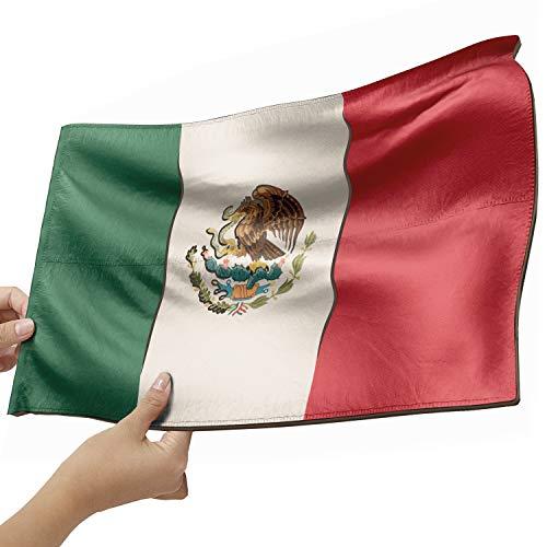 Mexiko Flagge als Lampe aus Holz - schenke deine individuelle Mexiko Fahne - kreativer Dekoartikel aus Echtholz