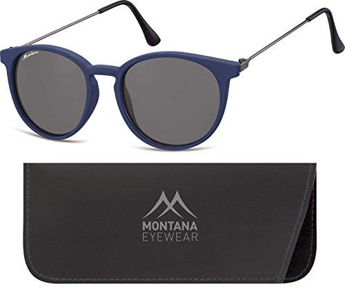 Preisvergleich Produktbild Montana Eyewear Sunoptic S33A Sonnenbrille in blau,  inklusive Softetui