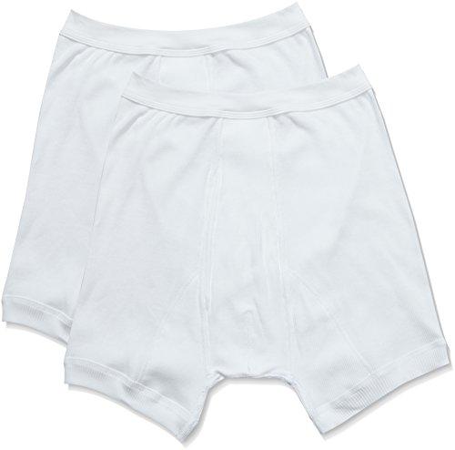 Trigema Herren Unterhose Doppelripp Doppelpack Costume da Bagno, Bianco (Weiss 001), X-Large (Pacco da 2) Uomo