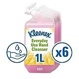 Kleenex Seife 6331 - Handreiniger für die tägliche Verwendung, rosa, 6 x 1 L