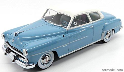 Dodge Coronet Club Coupe, hellblau/weiss, 1952, Modellauto, Fertigmodell, BoS-Models 1:18