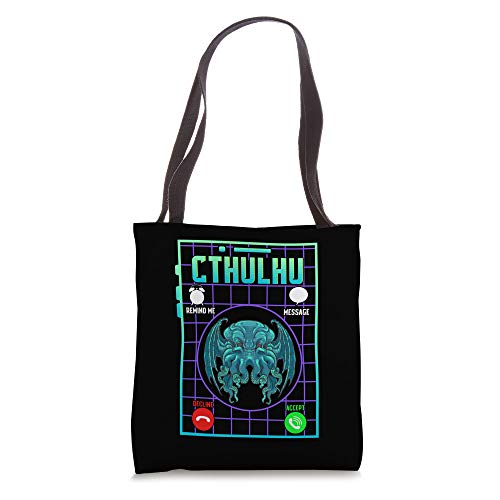 Funny The Call Of Cthulhu Dark Occult Goth Pun Tote Bag