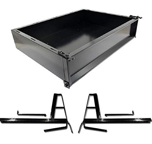 Club Car DS (2000.5-Up) Golf Cart Cargo Box Kit (Steel)
