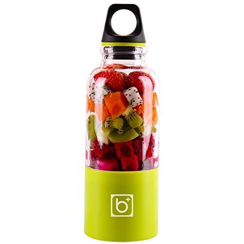Hyoch Draagbare mini-mixer, USB-elektrische fruitmixer, sapblender voor reizen, thuis, kantoor en buiten, ideaal voor fruit, milkshake en babyvoeding, C