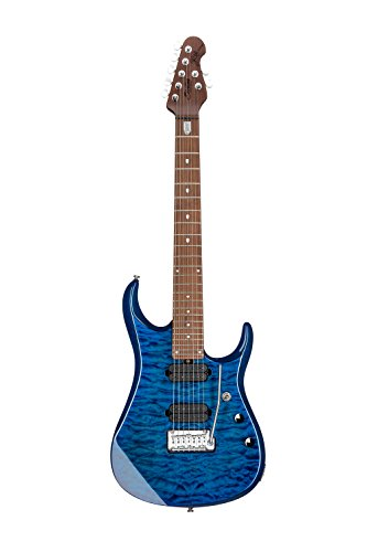 Sterling By MusicMan 7 String Sterling by Music Man John Petrucci Signature Guitar, JP157, Neptune Blue, (JP157-NBL)