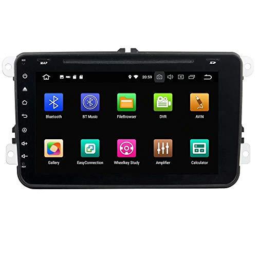ROADYAKO Android 8.1 pour VW Touran/Jetta/Siège/CC/Polo Golf/Golf 5 6 2006 2007 2007 2009 2009 2010 2011 2012 Autoradio Stéréo GPS Navigation 3G Lien WiFi Miroir RDS FM AM Bluetooth