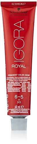 Schwarzkopf IGORA Royal Premium-Haarfarbe 6-5 dunkelblond gold, 1er Pack (1 x 60 g)