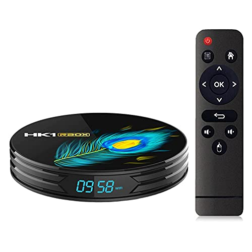 SSRSHDZW Caja de TV Conjunto de la Caja Superior 4G / 64G RK3566 Android11 ​​8K HD Reproductor de Red Home Media Player Dual Band Band & Voice Control Remoto