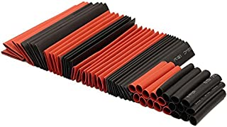 127Pcs/Set Heat Shrink Tube Sleeving Wrap Wire 2:1 Polyolefin Cable Sleeving Assortment Kit