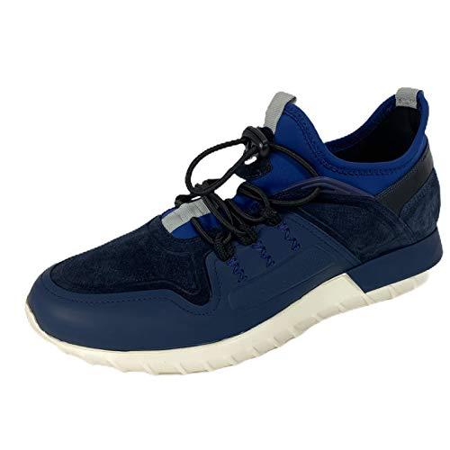 Moncler C55 Sneaker Uomo Blue Garry Scarpe Shoes Man [42]