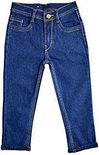 Toffee and Candy Relaxed Casual Regular Fit Solid Dark Blue Capri for Girls | Age Group - 10-16 Years