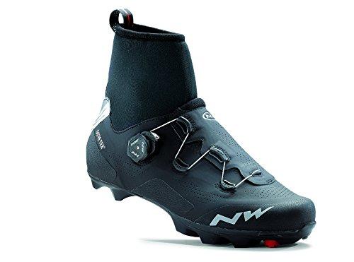 NORTHWAVE FLASH ARCTIC GTX Zapatillas carretera zapatos de invierno negro, Tamaño:gr. 43