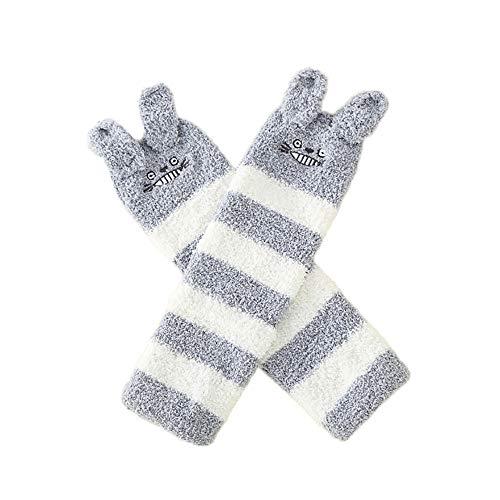 Unisex Herbst Winter verdicken Kinder Junge Mädchen Strümpfe Baby Kniepolster Kind Socken Fashion Warm Weihnachtssocke(B,1-3 Jahre alt)