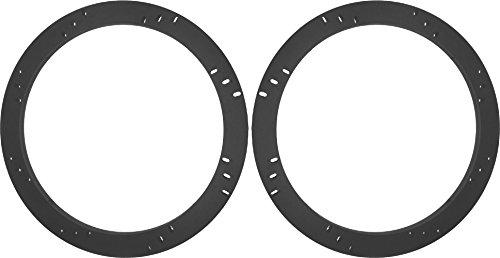 "8"" Subwoofer Speaker Spacers Depth Extender Extending Rings - 1/2"" thick - ID: 7 1/8"" OD: 8 7/8"" - 1 Pair - SSK8K - Stackable - Perfect For Framing Fiberglass Enclosures"