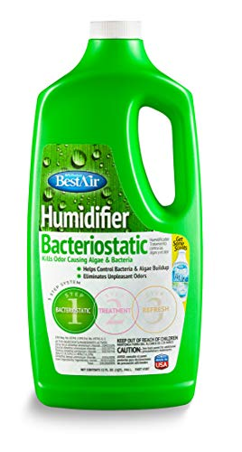 BestAir 3BT-PDQ-6 Original BT Humidifier Bacteriostatic Water Treatment, 32 fl oz, Single Pack, Green