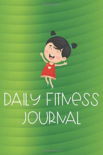 Daily Fitness Journal: Diet and Workout Journal, Meal Tracker, Draw and Write Paper, Fitness Diary for Kids