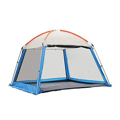 Gazebos para Acampar de 3x3m con costados, Gazebo Garden Garden Heavy Duty Carpa para Fiestas Refugio para Eventos, Canopy Impermeable Ligero, Senderismo y Barbacoa, A