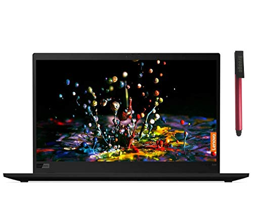 Lenovo ThinkPad X1 Carbon Gen 7 14' FHD Business Laptop Computer, Intel Quad-Core i5-8265U (Beat i7-7500U), 8GB RAM, 256GB PCIe SSD, Webcam, Windows 10 Pro, BROAGE 64GB Flash Drive, Online Class Ready