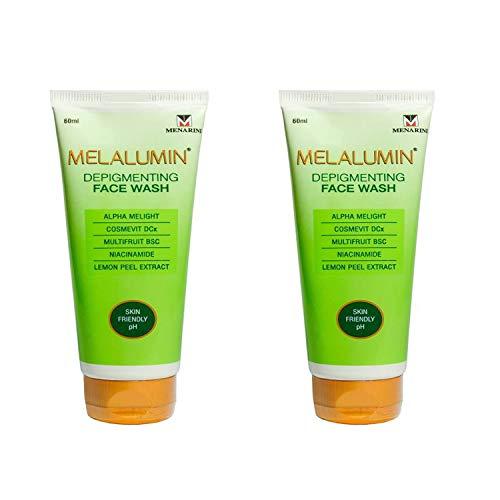 Melalumin Depigmenting Face Wash Pack of 2