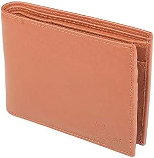 TOUGH HORN Men's Leather Wallet_THTAN00319