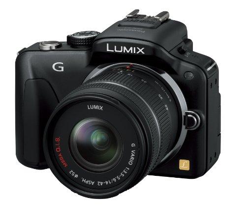 パナソニック ミラーレス一眼カメラ LUMIX G3 レンズキット エスプリブラック DMC-G3K-K
