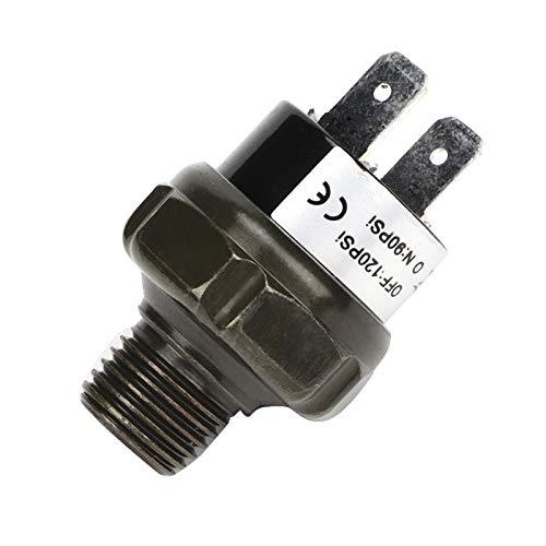 Interruptor de compresor de aire, interruptor de presión, acero inoxidable para automóviles