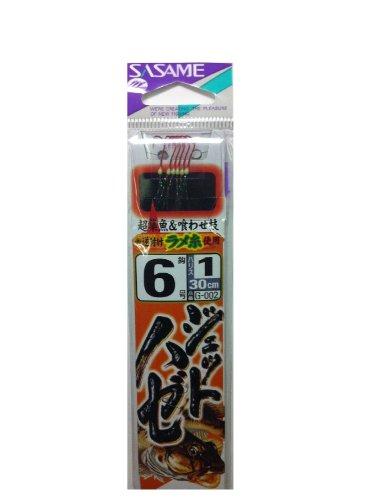 ささめ針(SASAME) G-002 ジェットハゼ 糸付 6-1