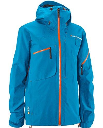 Peak Performance Heli Alpin Jacket, Herren Jacke (G37274010) (XL, Mosaic Blue)