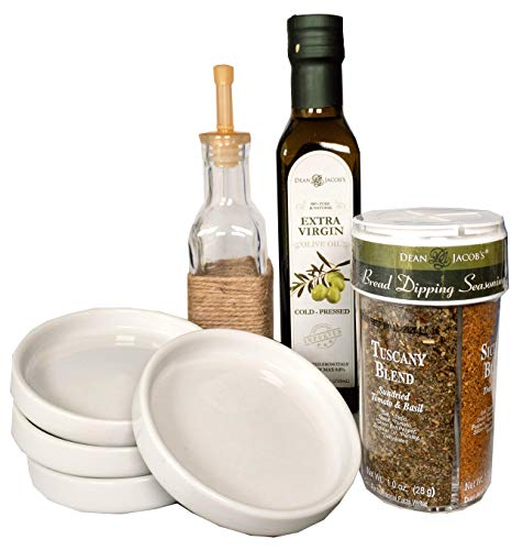 Dean Jacob's New 7 piece Bread Dipping Gift Set