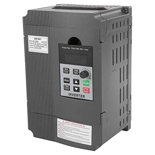 Frequenzumrichter VFD 2.2KW 220V Einphasen Universal Frequenzumwandler zur Steuerung der Motordrehzahl