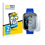 brotect 2-Pièces Protection Ecran Compatible avec Vtech Kidizoom Smart Watch DX2 - Film Protection Ultra Clair