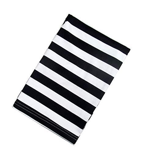 Adore store Soins Infirmiers Poussette Cover Portable White Stripes Noir Conception Allaitement Serviette Multi Fonction infirmière Respirant Couvre Poussette Canopy Couverture 1pc C Type
