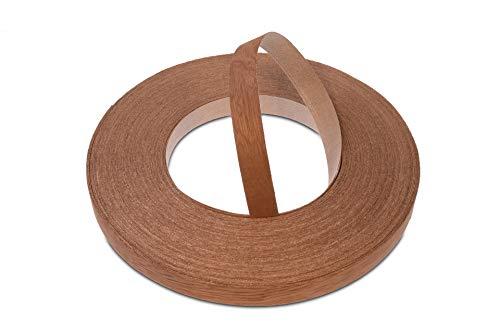 22 mm Mahagoni Vorgeklebtes Furnier-Randband - 50m Rolle für die Industrie Gehobene Qualität - Eisen-On Holz für Einfache DIY-Anwendung