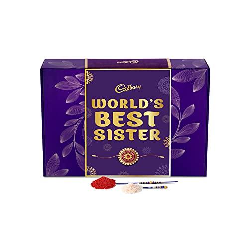 Cadbury Raksha Bandhan Special Gift Pack for Sister, 281g