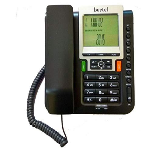 Beetel M71 Grey Black Corded Landline Phone