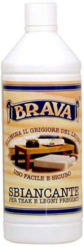 Brava OSB1 bleekmiddel voor teak en PRegiene houtsoorten, 1000 ml
