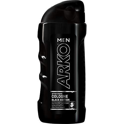 Arko Hombres Aftershave Colonia, Black Edition