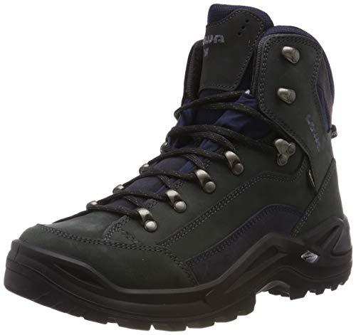 Lowa Men's Renegade GTX Mid Hiking Boot,Dark Grey/Navy,11 M US
