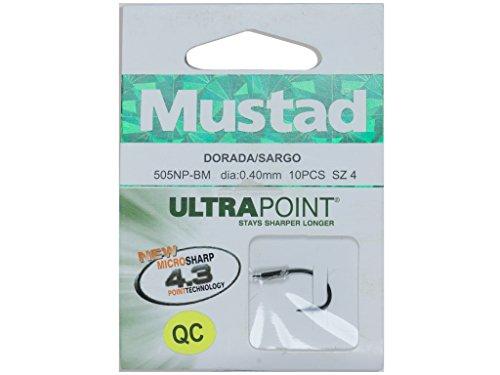Mustad - Dorada Sargo 505NP BN, Color Black