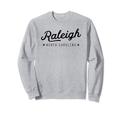 Classic Retro Vintage Raleigh North Carolina USA Gift Felpa