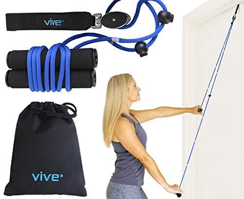 VIVE - Puleggia da Porta per Riabilitazione delle Spalle, Sistema di Riabilitazione per Le Spalle congelate, Fisioterapia, flessibilità, Gamma di movimenti e Stretching