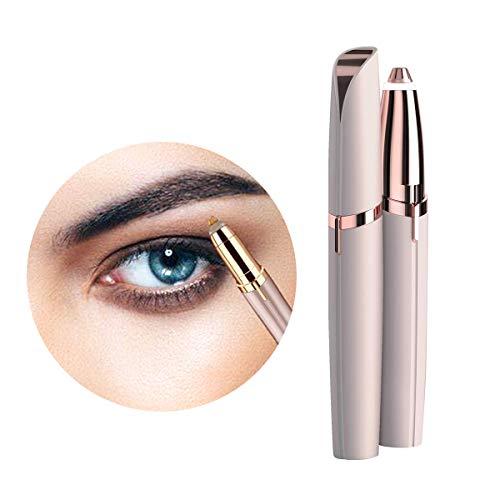 Eléctrica 3 en 1 Depiladora, Depilador De Las Cejas del Removedor del Maquillaje De La Ceja, Depiladora Facial Segura Sin Dolor, Portátil para Las Señoras,Pink,Como se ve en la TV