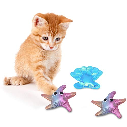 SALUTUYA Caja Fuerte interactiva para Gatos, Adecuada para Mascotas, Gatos, 4 Piezas
