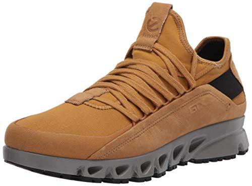 ECCO mens Multi-vent Luxe Gore-tex Dyneema Sneaker, Cayote/Cayote Textile, 11-11.5 US
