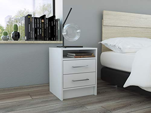 Tuhome Furniture Eter Nightstand White
