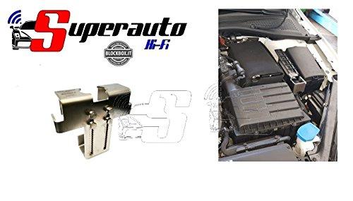 SM01 STEEL MONSTER BLOCK BOX RINFORZATO ACCIAIO protezione AUTO ANTIFURTO CENTRALINA Golf 7