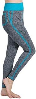 Womail 2019 Women False Pocket Gym Yoga Running Fitness Leggings Pants Athletic Trouser Femme Sports Clothing Training Pants : Sky Bule, S, United States