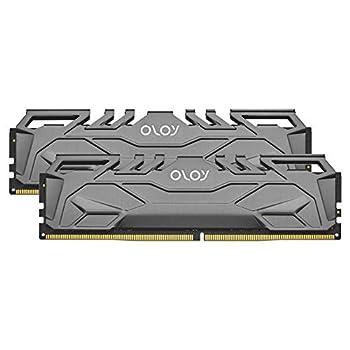 OLOy DDR4 RAM 16GB  2x8GB  2666 MHz CL19 1.2V 288-Pin Desktop Gaming UDIMM  MD4U0826190BHIDA